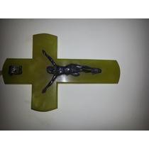 Cristo De Marmol Onix Y Bronce