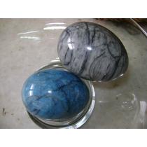 Lote Huevos Decorativos Piedra O Mármol - No Envío