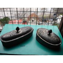 Antigua Jabonera Y Peinera De Peltre Peluqueria Antigua