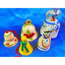 El Arcon Lote 5 Campanas De Ceramica R De Toledo 25111