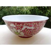 Hermoso Bowl Oriental Decorado - No Envío