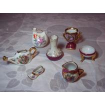 Porcelana Limoges Lote De Miniaturas/adornos