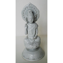 Guanyin Porcelana China Sellado Siglo Xix
