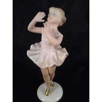 El Arcon Figura De Porcelana Bailarina Wallendorf 15 Cm