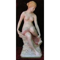 Gran Desnudo Femenino - Porcelana Checoslovaca