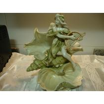 Faiance Antigua De Porcelana Europea Numerada Y Grabada
