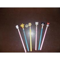 10 Lapices Souvenir Kitty, Minnie , Winnie Pooh, Mickey