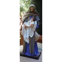 San José Con Niño Jesús. Arte Sacro. Imagen Religiosa.