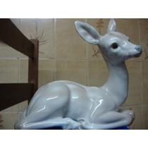 El Arcon Figura De Porcelana Lladro Ciervo Reposando