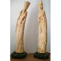 Esculturas /estatua /figuras De Marfilina Y Pasta Oriental