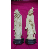 Lote - Esculturas / Estatuas - Figuras Orientales