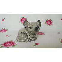 Figura Raton Porcelana Alemana Goebel Impecable
