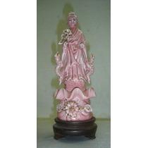 Pieza Dama Oriental Porcelana (988)f