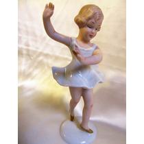 El Arcon Figura De Porcelana Bailarina Wallendorf 15 Cm 5003