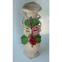 Antiguo Florero De Porcelana Art Nouveau Royal Dux Austria