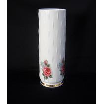 Florero Porcelana Verbano Shabby Chic Adorno De Vitrina