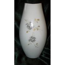 Platero Antiguo Florero Aleman Kaiser En Porcelana Sellado