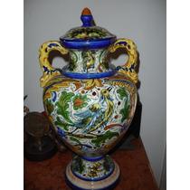 Bello Y Antiguo Jarron De Porcelana