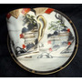 Bellisima Y Antigua Taza Y Plato De Cafe Porcelana China.