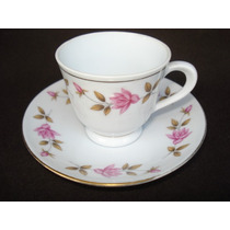 Taza De Cafe En Porcelana China Sellada Vitrina (291f)