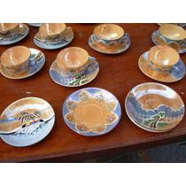 Japón Tazas Y Platos Antiguos Cáscara De Huevo Lote !!!!!!!!