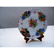 Excelente Plato De Ceramica Talavera