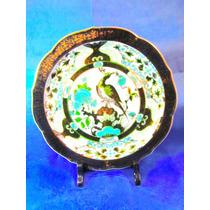 El Arcon Hermoso Plato De Porcelana Saji Made In Japan 6027
