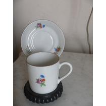Pocillo De Cafe Miniatura De Porcelana Coleccion