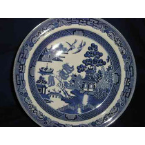 022-excelente Plato Ingles Wedgwood-willow-etruria-barlaston