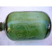 Antiguo Flotante De Vidrio Verde Para Deposito De Agua