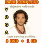 Yoga Coleccion Alejandro Maldonado Pack 3 Dvd + 1 Cd Audio