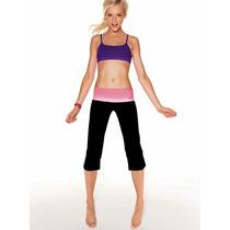 Yoga Bralette Azul-violeta De Victoria