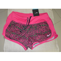 Short Nike Mujer Dri Fit Running Printed Crew Original