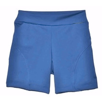 Calza Short Con Recortes En Supplex Cintura Alta