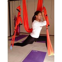 Columpio De Aero Yoga Aero Pilates Paracaidas 2 Años Garantì