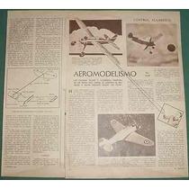 Clipping Aeromodelismo Grafico Control Alambrico 2 Pg Fotos