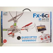 Drone Fx-6ci Cámara Hd Wifi Fpvsoporte Celular Estabilizador