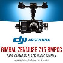 Dji Zenmuse Z15 Black Magic Gimbal Original Cuadricoptero