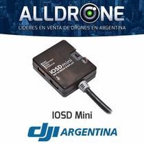 Dji Iosd Mini Telemetria Datos De Vuelo Tiempo Real Gps