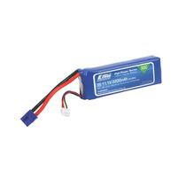 Bateria 2200mah 3s 11.1v 30c Lipo, 13awg Ec3