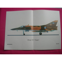 Mirage M.5 Dagger - Lámina Revista Aeroespacio