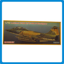 -full- Lockheed F104 G/tf 104 G Starfighter 1/72 Modelex 273