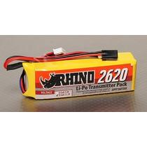 Bateria Lipo Para Radio Rhino 2620mah 3s 11.1v