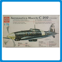 -full- Aeronautica Macchi C202 1/72 Super Model Nº 10-010