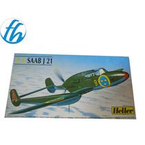 -full- Saab J 21 1/72 Heller N 80261