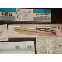 Antiguo Kit Nimbus Para Armar Avion Aerocumulus Lote De 2 !