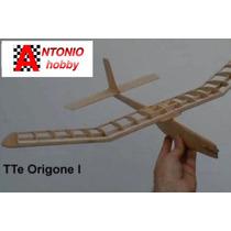 Original Teniente Origone Kit Madera Balsa Para Armar Envios