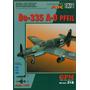 Papercraft Del Do 335 A-o Pfeil De La Segunda Guerra Mundial