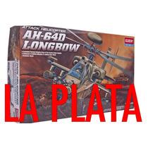 Apache Ah64 Longbow Academy 12268 1/48 Helicoptero La Plata