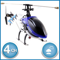 Helicóptero A Radio Control Remoto Rc Giroscopo - 4 Canales